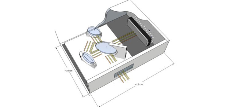 Spectometer 750x 350