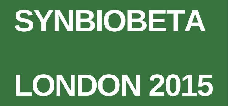 Synbiobeta London 2015
