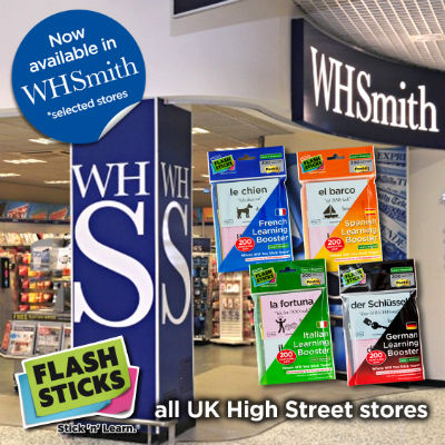 FlashSticks in WHSmith